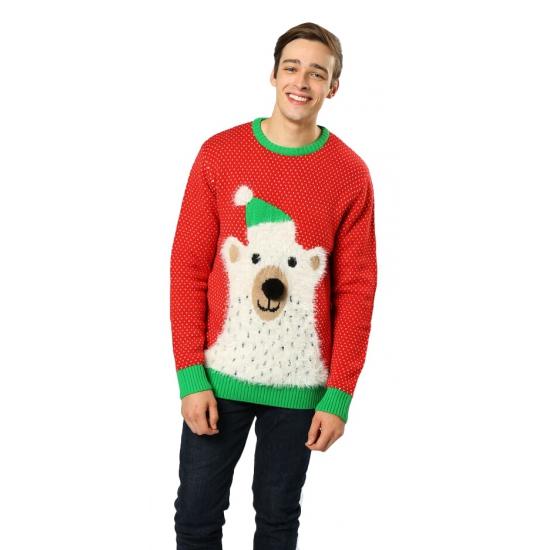 Foute Kersttrui Volwassenen.Nu Zeer Voordelig Foute Kersttrui Ijsbeer Met Belletjes Bestellen